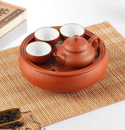 Ceramic Travel Kung Fu Office Tea Ware Teapot Gift Set Carry Out Carrying