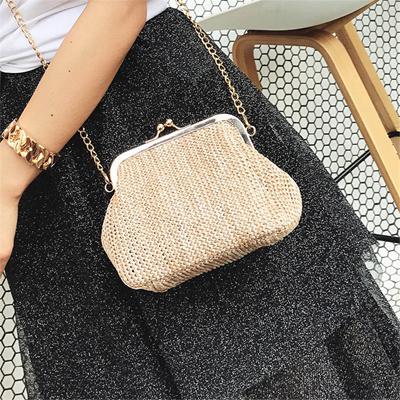 f56e35adc725 Qoo10 - Chain Small Crossbody Boho Bags For Women Evening Clutch Bags Ladies  H...   Bag   Wallet