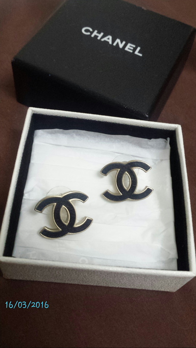 Authentic Chanel Earrings