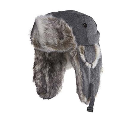 9ef3d41d6d3da Qoo10 - Chaos Mens Dylon Wool Blend Trapper Hat   Fashion Accessories