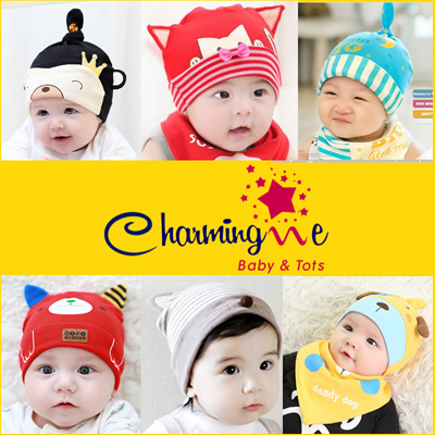 CHARMINGME ☆ BEANIE FASHION ☆ Stylish Baby Girls And Boys Beanie ☆  Fashionable Korean 7654b11cfa0