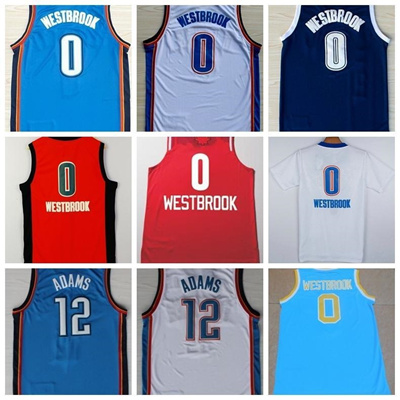 50a90ba88 cheap 0 russell westbrook jersey 2017 christmas all stitched discount mens  12 steven adams