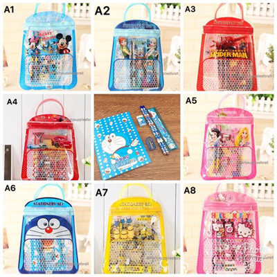 5d96f4d1cc45 CHEAPEST Goodies Bag★Paper Bag★Kids Birthday Goodies Bag★Stationery  Set★Party Gift★Children Gift