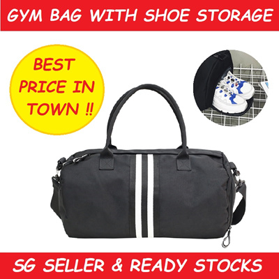 a042ab7f4c Qoo10 - Gym Bag Shoe Storage   Men s Bags   Shoes
