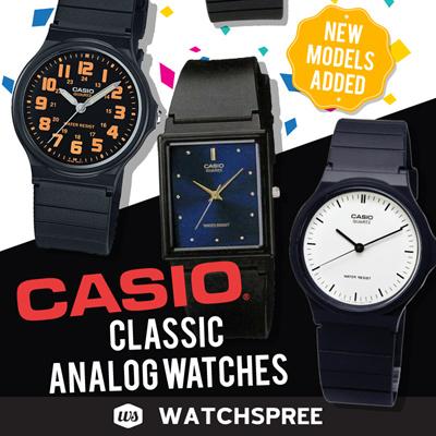 a355337f400  CHEAPEST PRICE IN SPORE   CASIO GENUINE  CLASSIC ANALOG WATCHES MQ-24