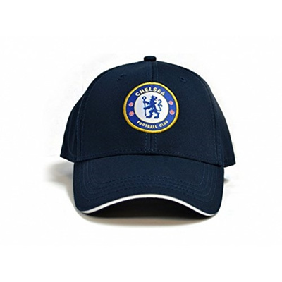 55046558398 (Chelsea F.C.) Chelsea FC Official Soccer Deluxe Baseball Cap- (Size One