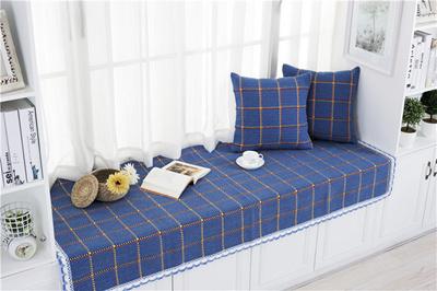 Cheque Cotton Sofa Covers/high Quality Sofa Mat Grid Design 7 Sofa Cover*  Balcony
