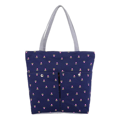 Cherry Canvas Handbag Preppy School Bag S Women Handbags Cute Bags