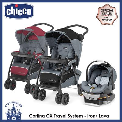 Chiccochicco Cortina Cx Travel System