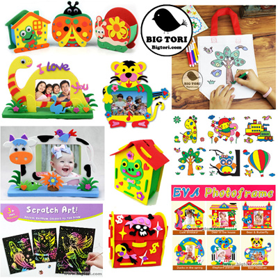 Children Art And Craft Birthday Party Gifts Goodie Bag Loot Bags Favours