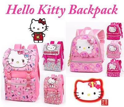 fdcf5950b8ff Qoo10 - Hello Kitty Backpack   Bag   Wallet