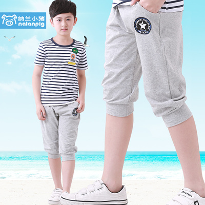 22d73a43235a Qoo10 - Children in the boys summer shorts cotton cropped trousers children  ...   Kids Fashion
