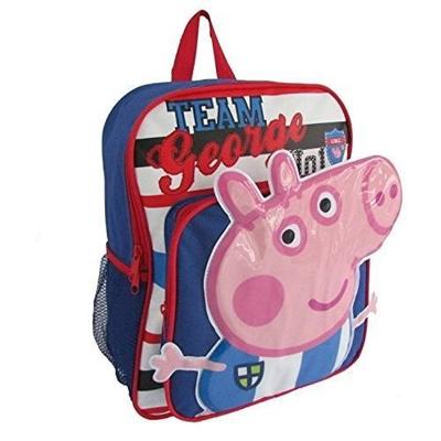 Qoo10 - Children Peppa Pig Backpacks Kids Cartoon School Bag Bookbag ... abf5c2a05afff