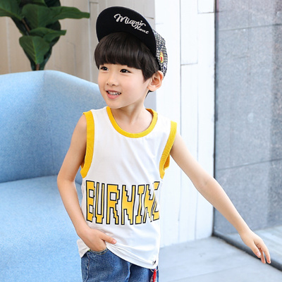 ff45d22a313d Qoo10 - Children s wear, boys vest, summer wear, 2018 new children s  sleevele...   Kids Fashion