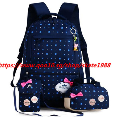 678adce686f5 Children School Bags Teenagers Girls Printing Rucksack school Backpacks  3pcs/Set