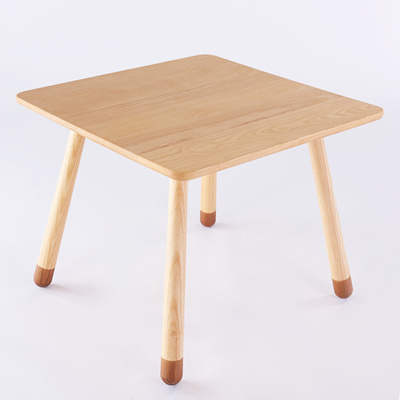 Children Tables Children Furniture Solid Wood Children Study Table Assembly  60*60*50 Cm
