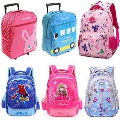 Qoo10 - Trolley Bag Backpack : Kids Fashion