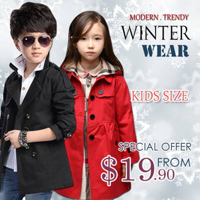3b465b735 Qoo10 - Winter Jacket   Kids Fashion