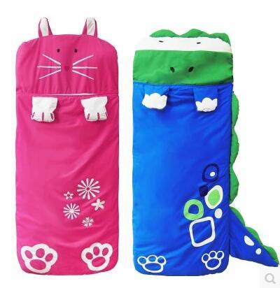 Childrens Sleeping Bag Anti Kick Quilt Kindergarten Autumn And Winter 2345 Year Old