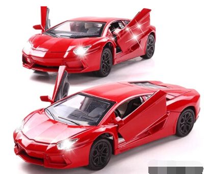 Qoo10 Childrens Toy Car Model Car 1 32 Lamborghini Car Alloy Metal