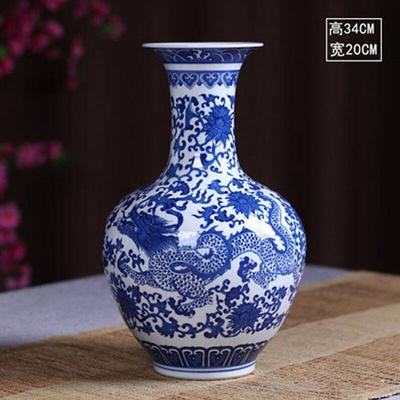 qoo10 china wind ceramic vase green pollen color vase flower