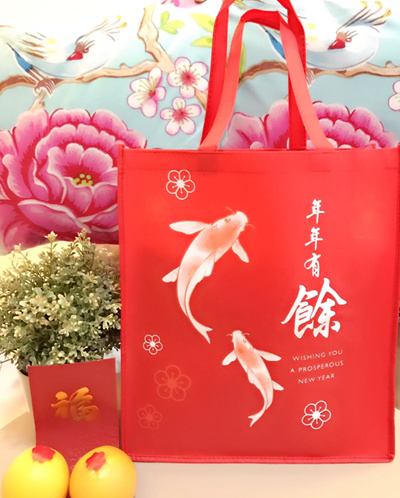Qoo10 - Chinese New Year Gift Bag / CNY Event Gift Carrier ...