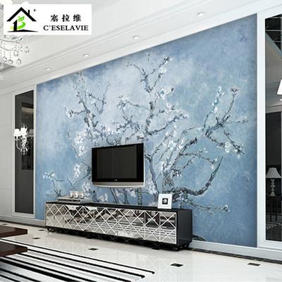 Qoo10 Chinese Selave Retro Van Gogh Xinghua Sofa In The Living