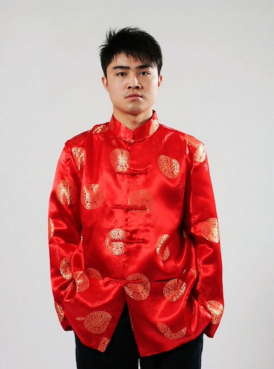 a395ceab3 chinese tops button kungfu cheongsam top chinese traditional clothing for  men blouse china tang suit long