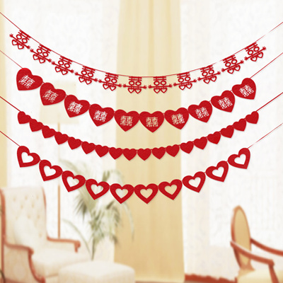 Qoo10 wedding garlands furniture deco chinese wedding garlands wedding decorations photo booth props wedding garlands wedding bunting junglespirit Images