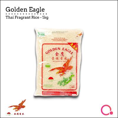 Chip Seng Impex[Chip Seng Impex] Golden Eagle - 1KG THAI FRAGRANT RICE!|  QUALITY RICE!