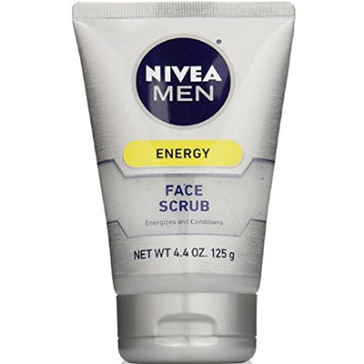 6 Pack - NIVEA FOR MEN Original, Deep Cleaning Face Scrub 4.4 oz Botox Alternative -Anti Wrinkle Filler Cream Forever Young Instantly Creates Tighter Younger Skin, Smooths Lines & Textures, Reduces Puffy Eyes, Fades Dark Circles, For Men & Women