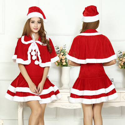 christmas clothes christmas costume christmas cosplay womens dress event clothing one piece