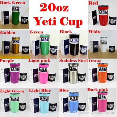 87cbca7acac Qoo10 - Christmas Gift 12 colors 20oz Yeti Cooler Cups YETI Rambler Tumbler  Tr... : Kitchen & Dining