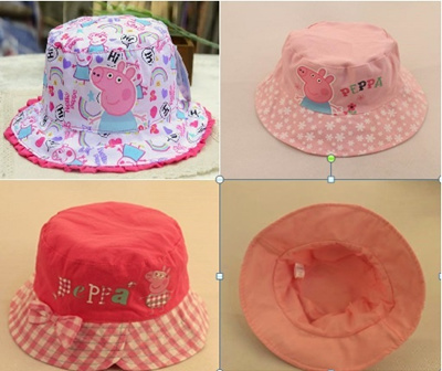 bfcf525085a Qoo10 - CHRISTMAS GIFT CHRISTMAS OFFER Peppa Pig Bucket Hat from 1-8years  old-...   Kids Fashion