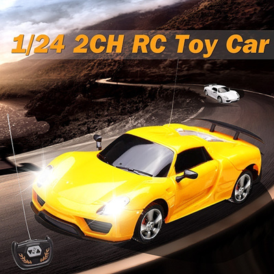 Christmas Sports Car.Christmas Gift Cool Electronic 1 24 2ch Remote Control Rc Sports Car Toys Kids Gift