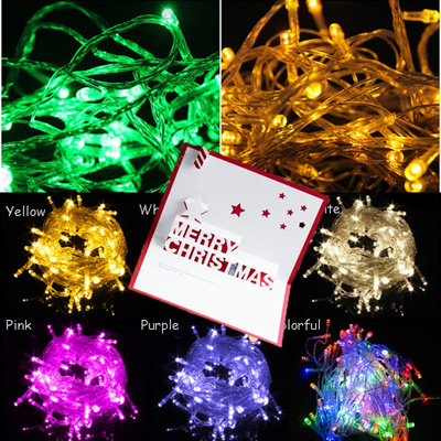 Qoo10 Christmas New Year 10 Metre 100 LED String Light Wedding