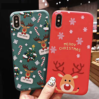 Christmas Phone Case Iphone Xr.Christmas Phone Case Iphone Xr Xs Max 8 7 6s Plus Soft Tpu Cute Phone Back Cover Case New Year Gift