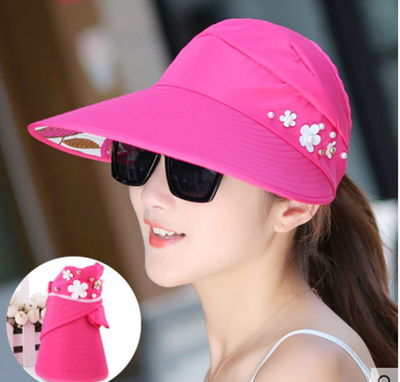 bd27dd7f6 Qoo10 - Summer Beach Visor : Women's Clothing