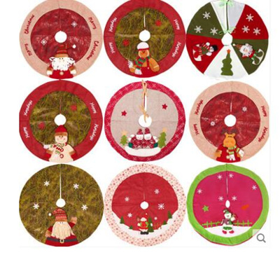 Qoo10 Christmas Tree Fence Fence Christmas Decoration Apron Tree