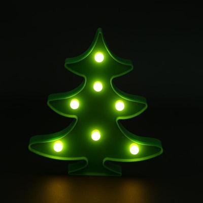 Qoo10 Christmas Tree Lamp New Year Glowing Night Light Bedside