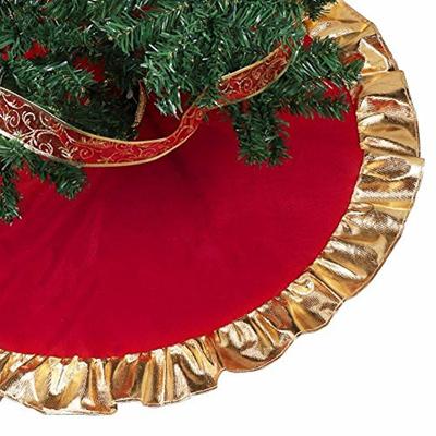 Qoo10 Christmas Tree Skirt Goldred Christmas Tree Skirt With