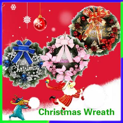 Qoo10 Christmas Wreath Decorations Christmas Tree Ornaments New