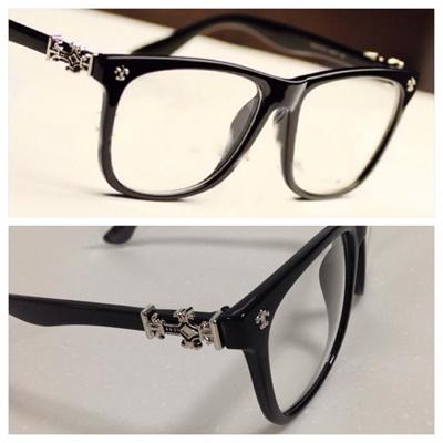 da5f25d3f04 Qoo10 - Chrome hearts glass specs  glasses  Fashion  Korean   Men s Bags    Shoes