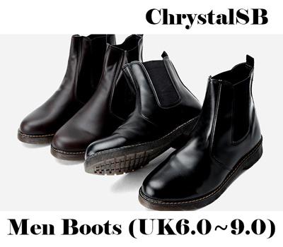 48d26cf75c9c Qoo10 - Chelsea Ankle Boots   Men s Bags   Shoes