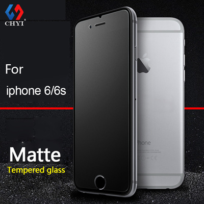 buy online a30a4 8a846 chyi matte tempered glass iphone 6 6s plus 6plus screen protector 9h  frosted oleophobic coating