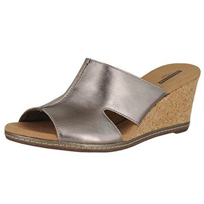 f63c88836306 Qoo10 - (CLARKS) Women s Sandals DIRECT FROM USA Clarks Women s Lafley Mio  Pla...   Shoes