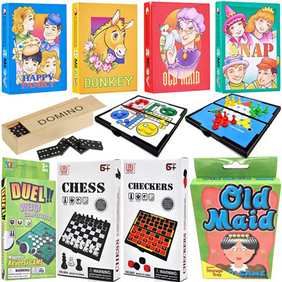 Classic Card Game / Board Game / Traditional Old School Game / Pocket Game  / Magnetic Board Game