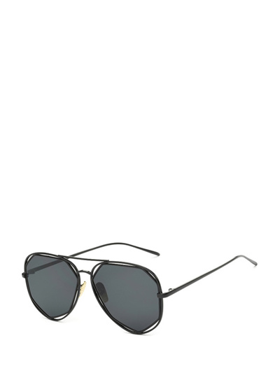 41a1fcfc938 Qoo10 - Classic Ultra Thin Black Frame Sunglasses For Men   Women s ...