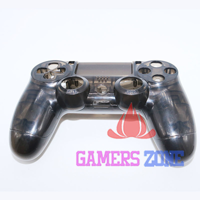 Clear Black Housing Case for PS4 Controller Transparent Black Shell Case  Cover for Playstation 4 Gam