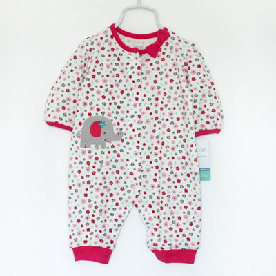 Clearance Carters Baby Clothing Long Sleeve Romper For 0 24m Babies 100 Cotton Lowest Price